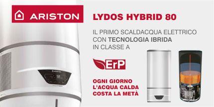 Ariston Lydos Hybrid 80, scaldacqua elettrico ibrido a pompa di calore in offerta ad un prezzo speciale