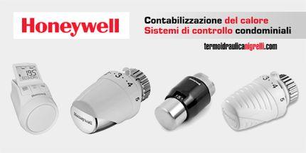 Honeywell, valvole termostatiche e sistemi di contabilizzazione del calore