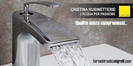 Cristina Rubinetterie, l'acqua per passione presso la Termoidraulica Nigrelli