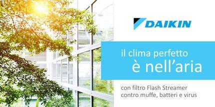Climatizzatori Daikin in offerta, condizionatori d'aria, pompe di calore e sistemi ibridi a prezzo scontato