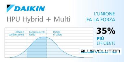 Sistemi ibridi di climatizzazione Daikin HPU Hybrid + Multi