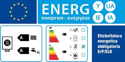 Etichettatura energetica ErP/ELD presso la Termoidraulica Nigrelli