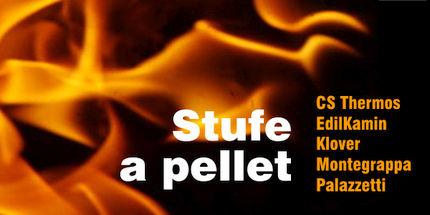 Stufe a pellet CS Thermos, EdilKamin, Montegrappa e Palazzetti in offerta