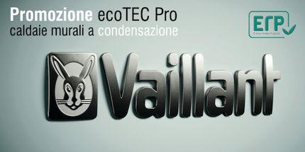 Caldaie a condensazione Vaillant ecoTEC Pro in offerta presso la Termoidraulica Coico